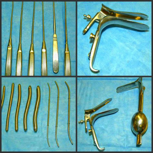 инструменты для проведения раздельного диагностического выскабливания полости матки и цервикального канала